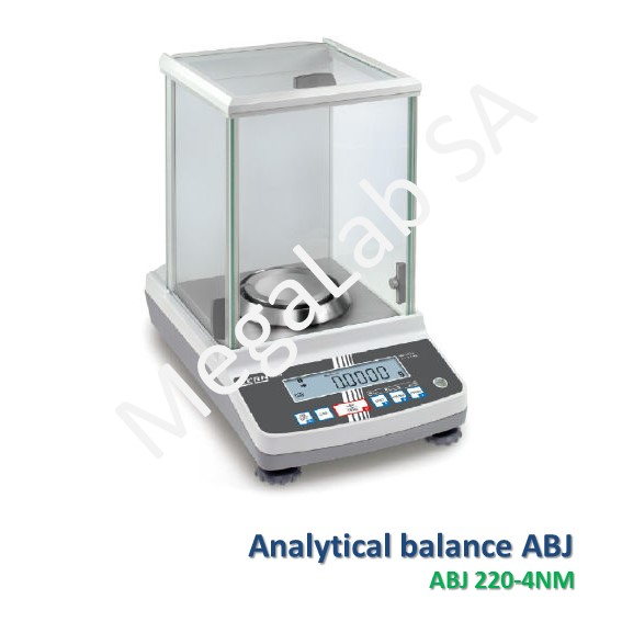 Analytical balance ABJ 220-4NM