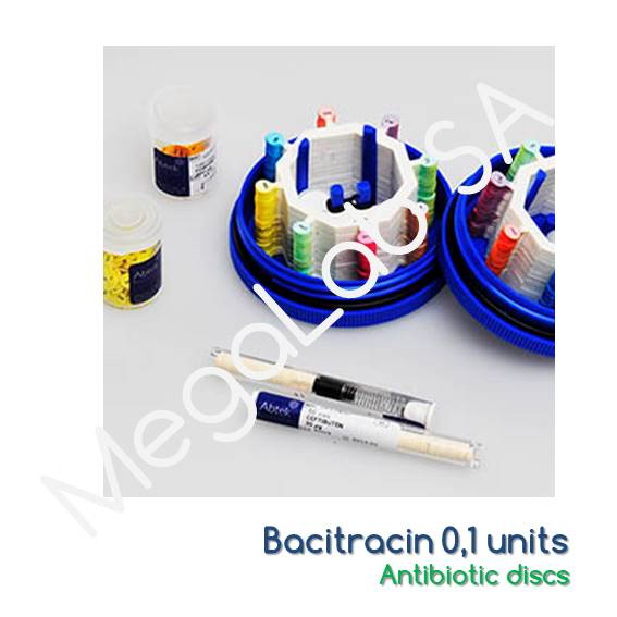 Bacitracin 0,1 units, 1x50 discs