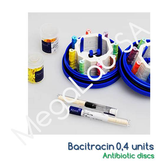 Bacitracin 0,4 units, 1x50 discs