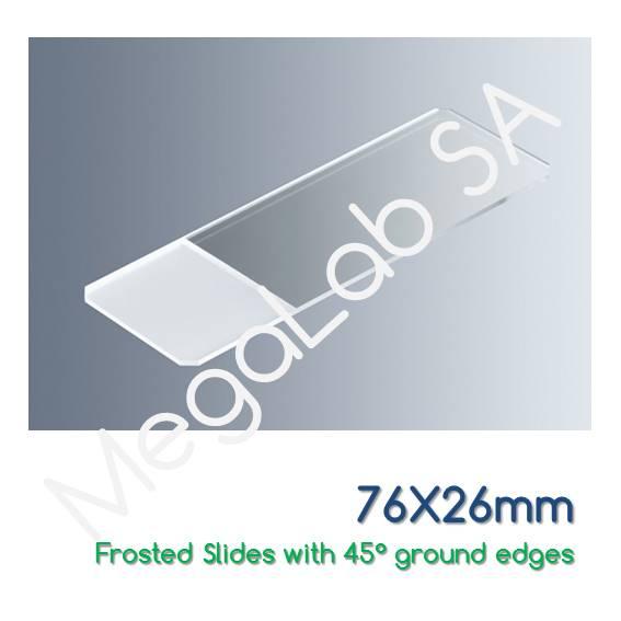 Αντικειμενοφόρες πλάκες 76x26mm, τροχισμένες, με εσμύρισμα, κομμένες άκρες στις 45°.