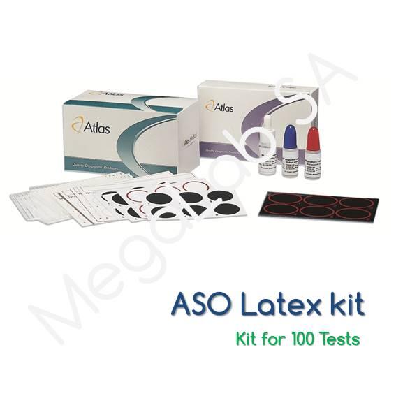 Latex Κιτ για τον προσδιορισμό Λοίμοξης απο Στρεπτόκκοκο (ASO)