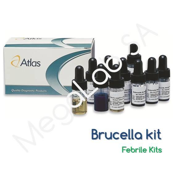 Latex Κιτ για τον προσδιορισμό βακτηριακών συγκολλητινών (Brucella)