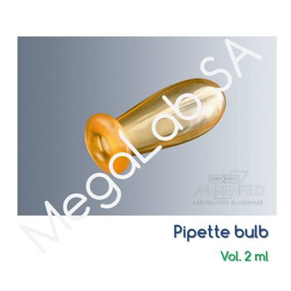 Φούσκες πληρώσεως πιπετών παστέρ (pasteur pipette bulb)