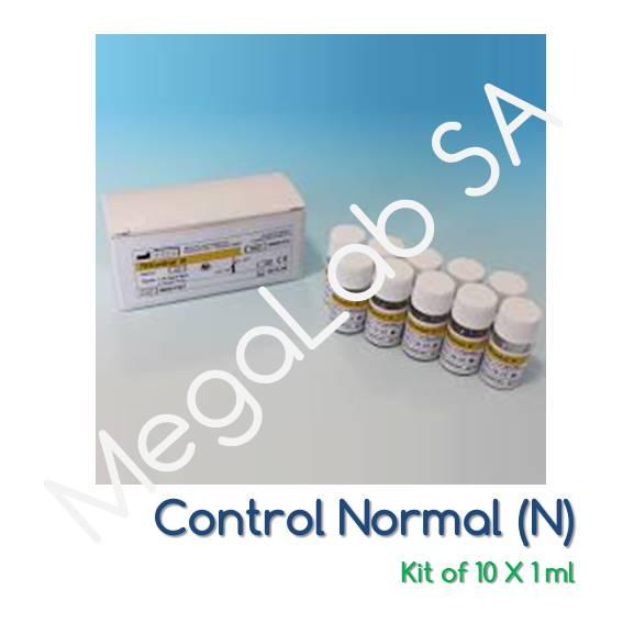 Πλάσμα ελέγχου αντιδραστηρίων πήξης - Φυσιολογικό (kit)