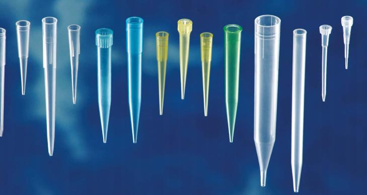 Ρύγχη αυτόματων πιπετών 0-10μl, λευκά (Tips Gilson Type)