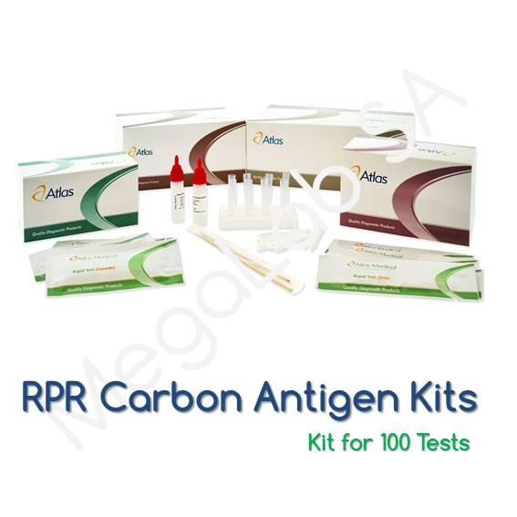 Latex Κιτ για τον προσδιορισμό Σύφιλης (RPR)
