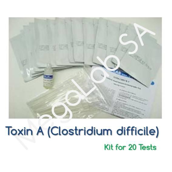 Τεστ ανίχνευσης του αντιγόνου Clostridium difficile τοξίνης Α (Toxin A)